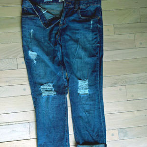 Boyfirend Distressed Denim